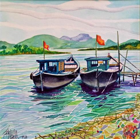 Thu Bon landscape