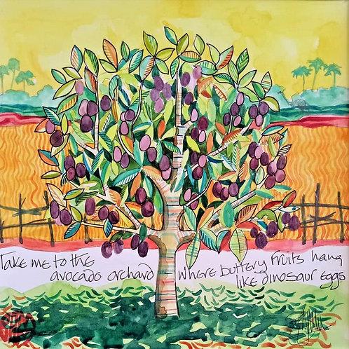 Tree series - Avocado