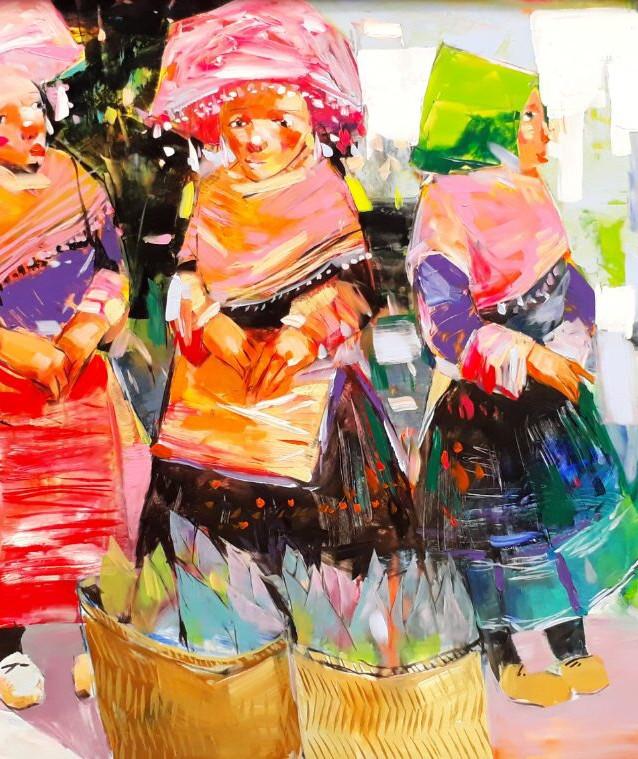 Bac Ha Market women