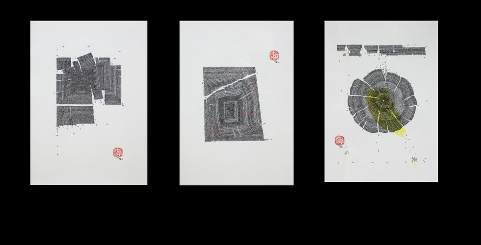 Original drawings by Marjon