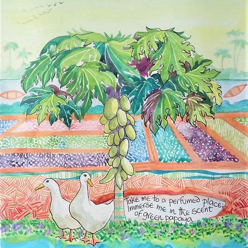 Tree series - Papaya
