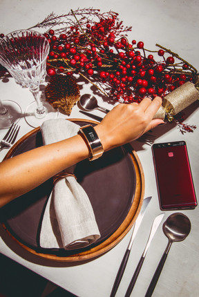 Huawei Watch and Phone editorial photoshoot