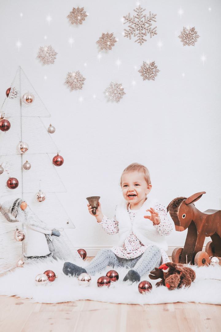 Weihnachtsfoto Kinder Ideen