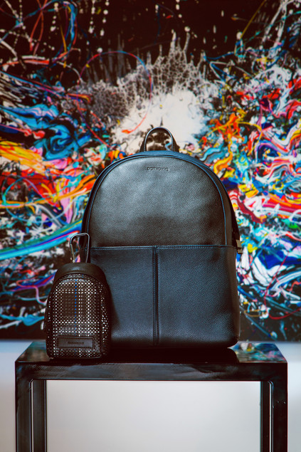 Editorial Dior men bags collection photoshoot