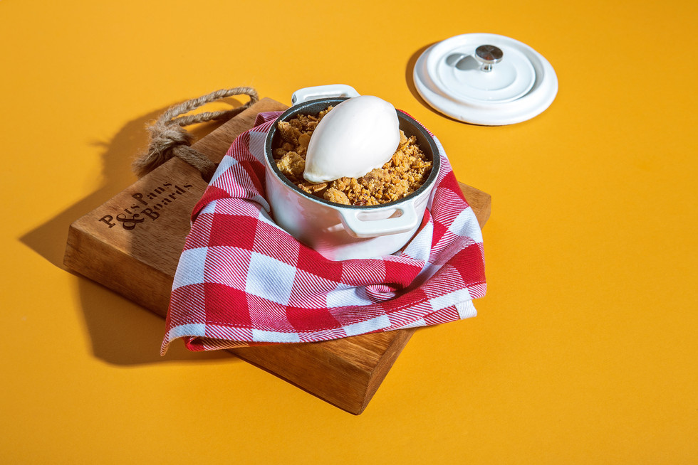 Pots, Pans & Boards - Food photography