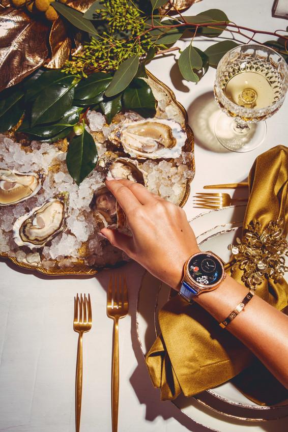 Huawei Watch editorial photoshoot