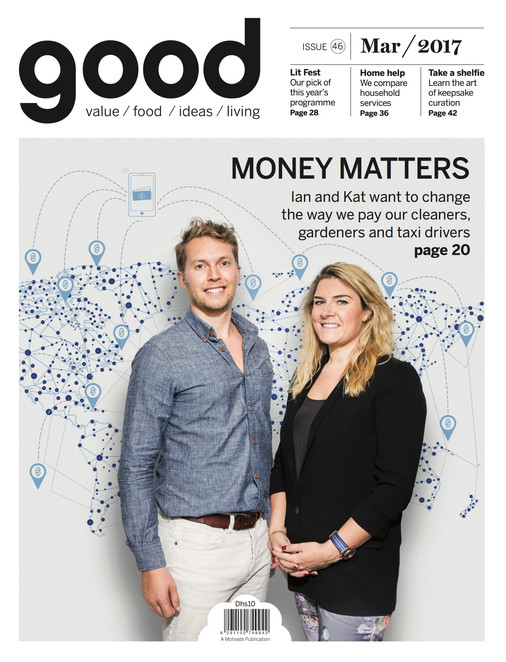 Cover for GOOD magazine