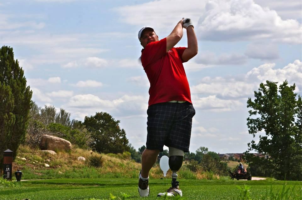 BJ Golfing in CO for TSF Open