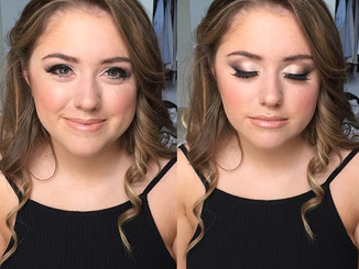 This girl though 😍 #prommakeup #katiebo
