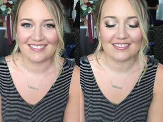 Loved doing this gorgeous girl's makeup