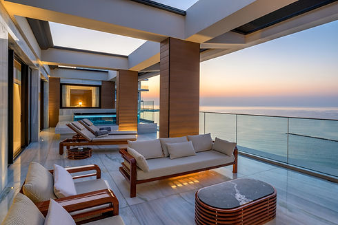 The Amara Suite - Terrace with Private P