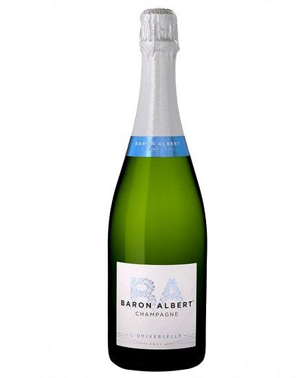 Baron Albert Brut Champagne £29