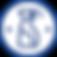 Синий на белом пульверизатор