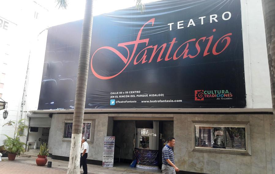 Teatro Fantasio, Festival Maya, Mérida