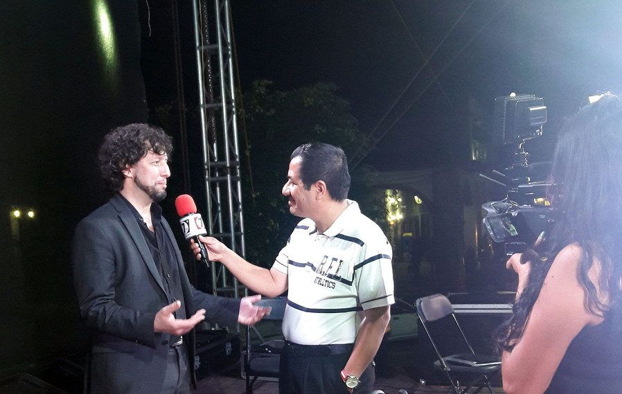 Nota TV en Tacámbaro, México