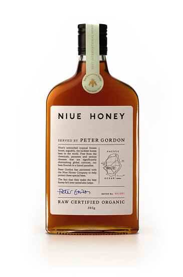 Niue Honey - served by Peter Gordon (NZ)