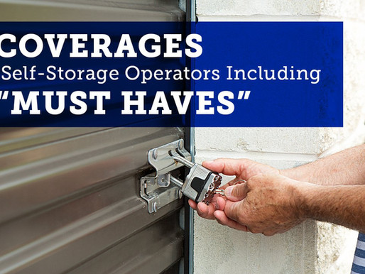"""Two """"MUST HAVES"""" for Self-Storage Operators"""
