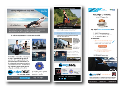 asterRIDE email campaigns