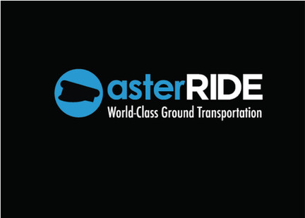 asterride logo with new tag line