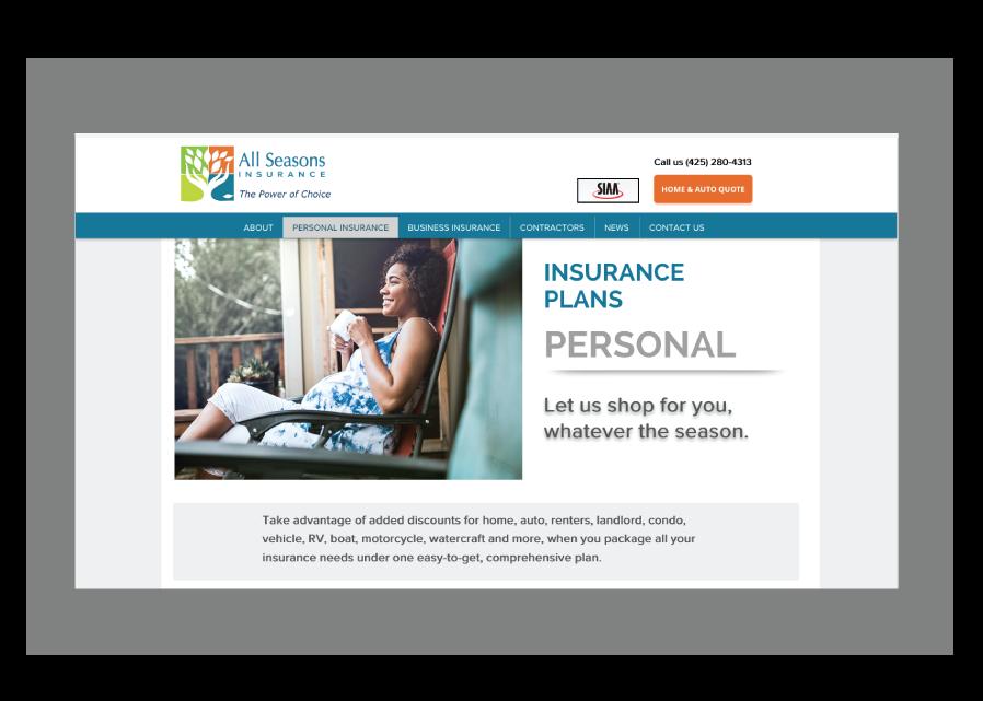 ASI Landing page personal insurance 1
