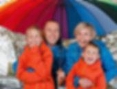 Family under umbrella All Seasons Insurance