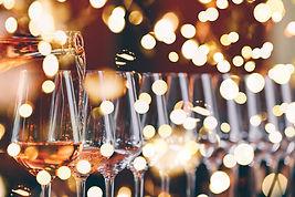 Festive Wine Pouring