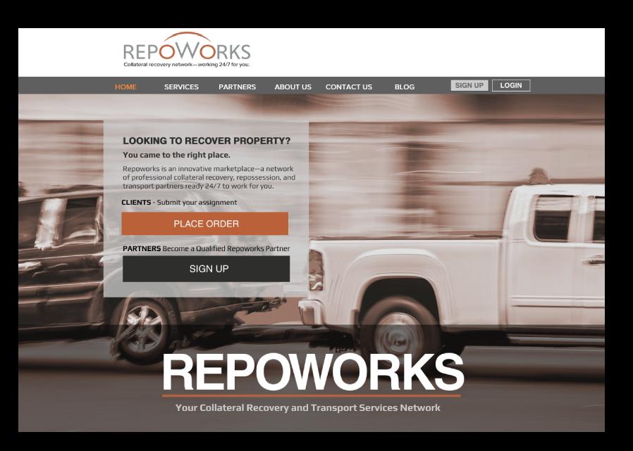 Repoworks website