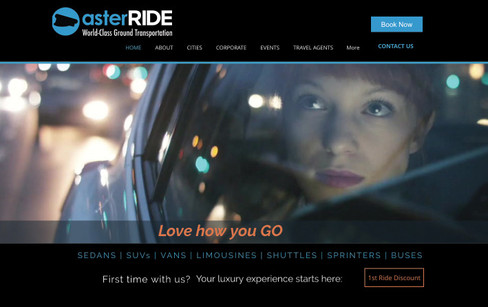 asterRIDE website