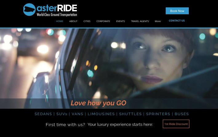 asterRIDE website