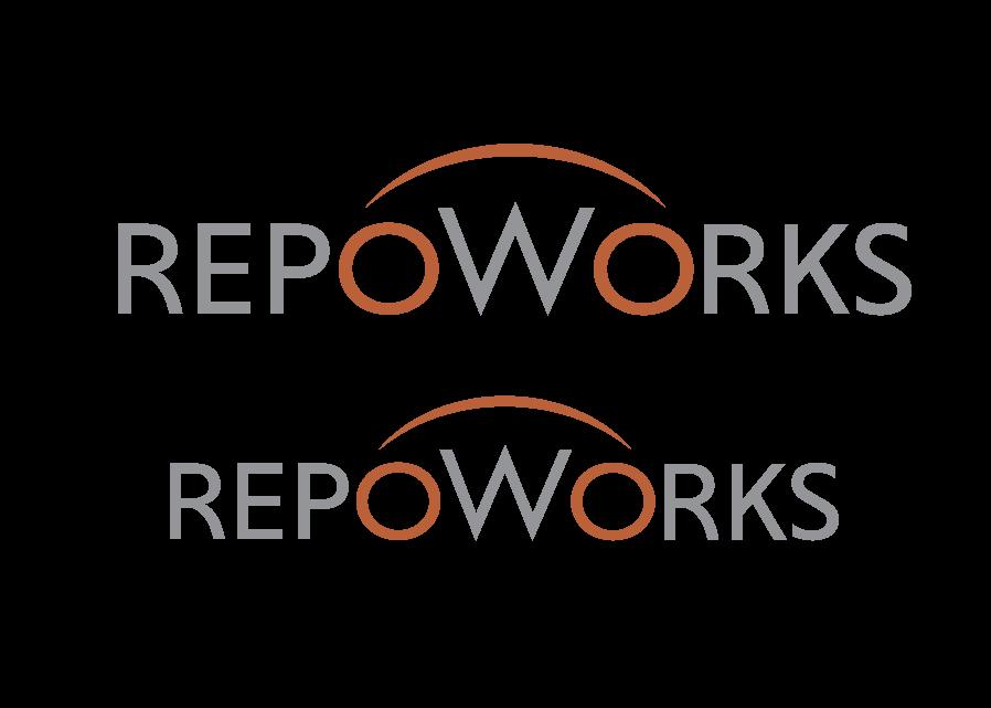Repoworks logo design