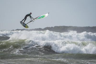 Rhosneigr Windsurfer