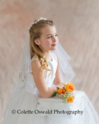 Capturing a special moment for a young girl using natural light