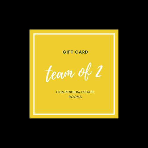 Team Of 2 Gift Voucher