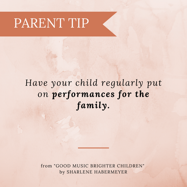 PARENT TIP_ Performances for the Family.