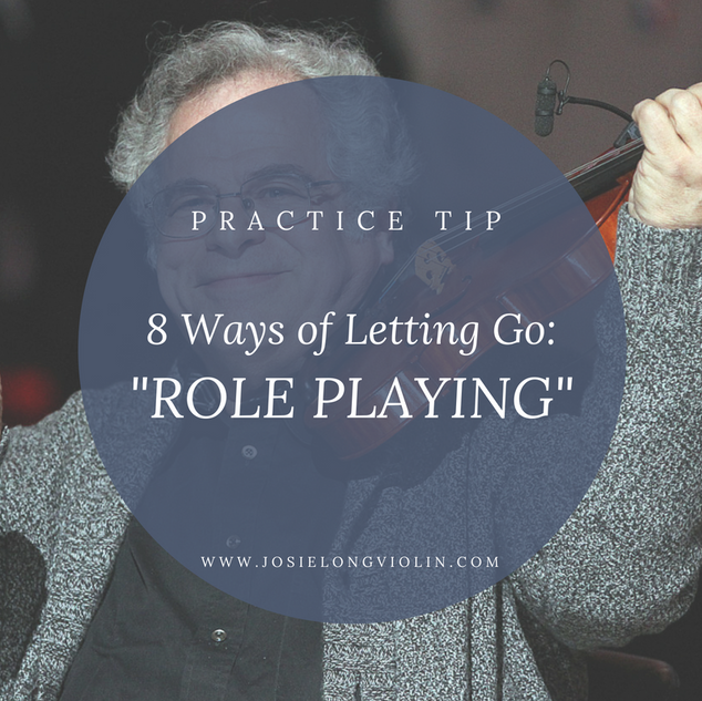 PRACTICE TIP: 8 Ways of Letting Go - Role Playing