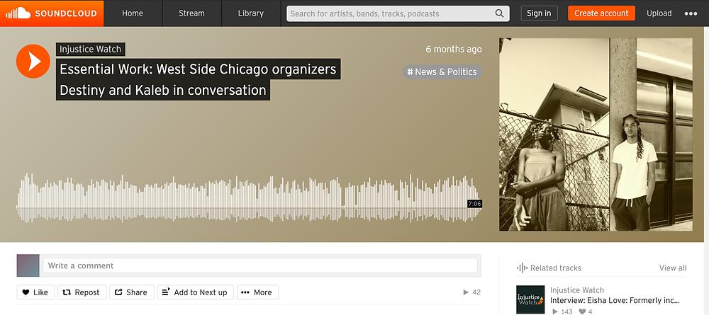 Essential Work: West Side Chicago organizers Destiny and Kaleb in conversation