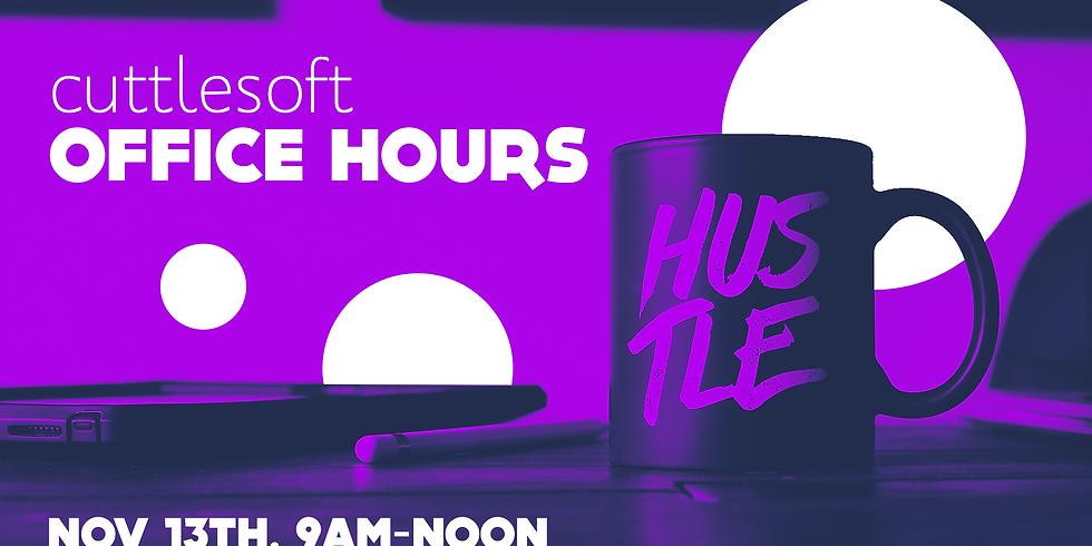 Cuttlesoft Office Hours