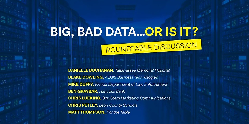 Big, Bad Data..or is it? A Roundtable Discussion
