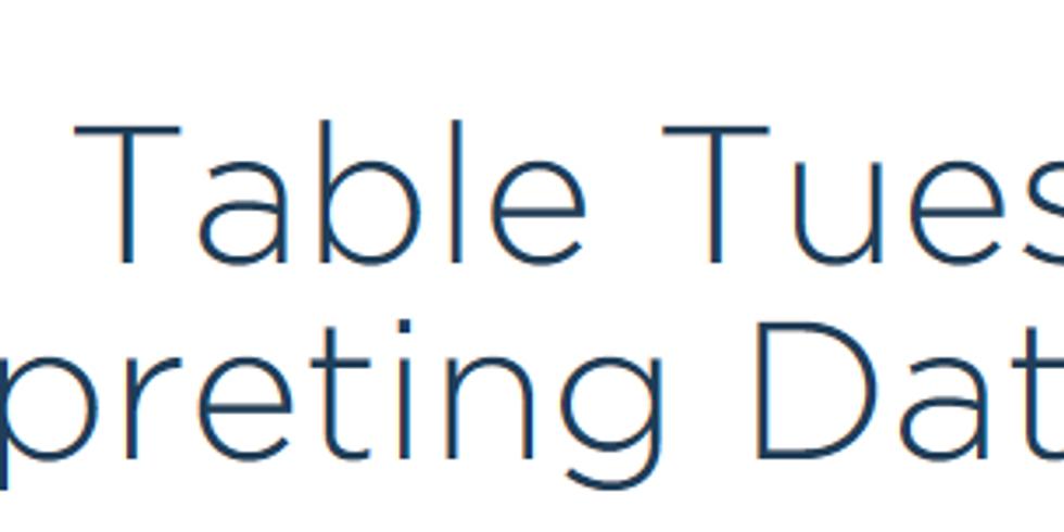 Tech Table Tuesday: Interpreting Data