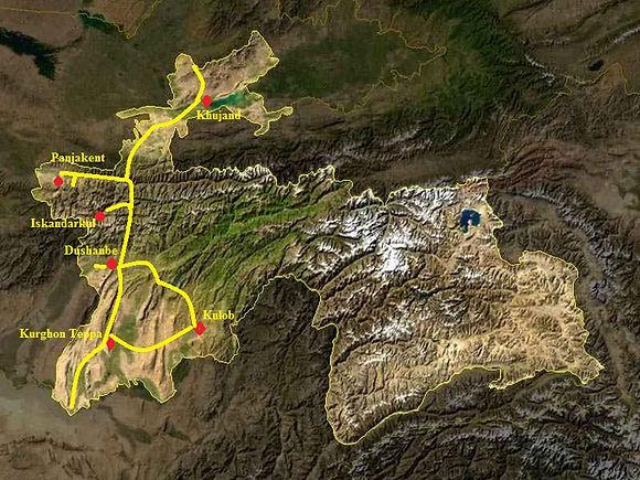 Tour to south of Tajikstan