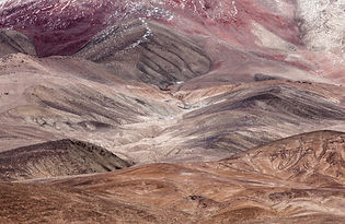 thecolor of Pamir mountain
