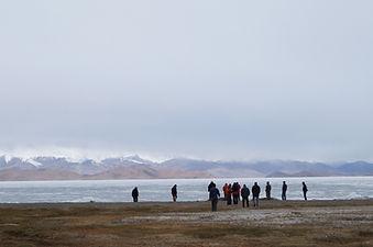 frozen Karakul Lake