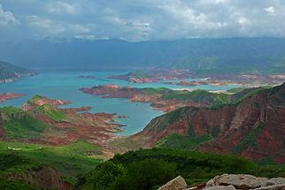 Lakes in Tajikistan
