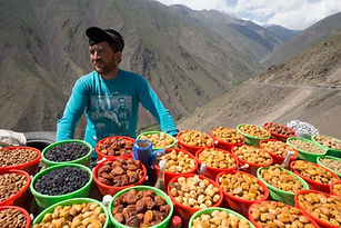 Tajik dry fruites