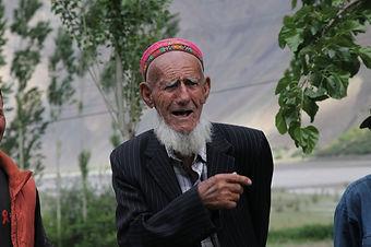 old pamirian man