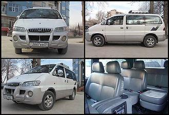Minivan for Pamir