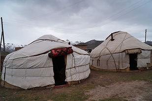 yurts in Pamir
