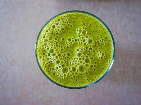 Recipe:  Sleepytime Green Juice