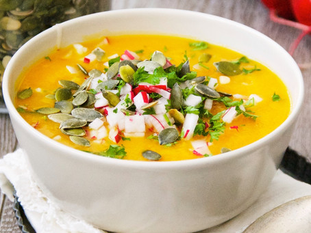 Recipe:  Butternut Squash and Sweet Potato Soup