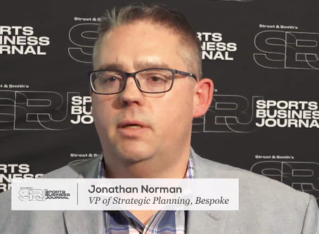 Bespoke's Norman Talks Sponsorship and Media Trends with SportsBusiness Daily